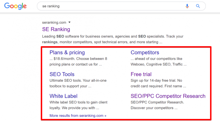 Google Sitelinks and Your Membership Site